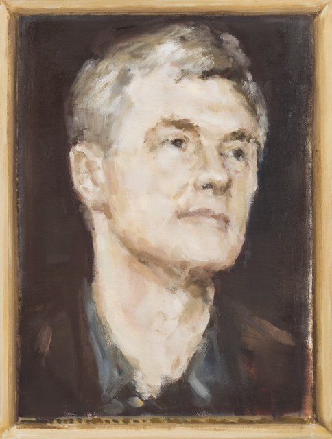 , 'Portrait study. David Zwirner,' 2015, The Rooster Gallery
