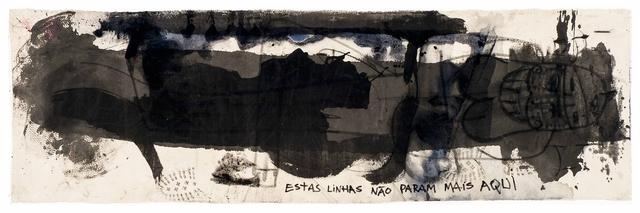 , 'Estas linhas não param mais aqui,' 2014, Roberto Alban Galeria de Arte
