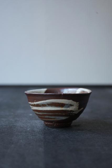 """Shiro Tsujimura, 'Tea Bowl """"Hakeme Style""""', Kami ya Co., Ltd."""