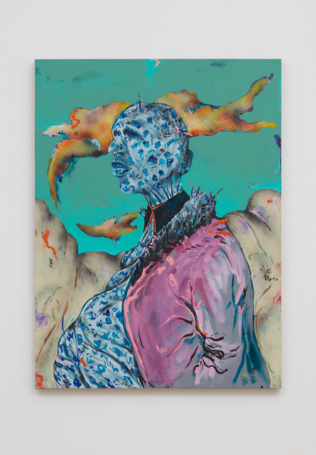 , 'Untitled Portrait I (The Gravediggers),' 2018, Stevenson