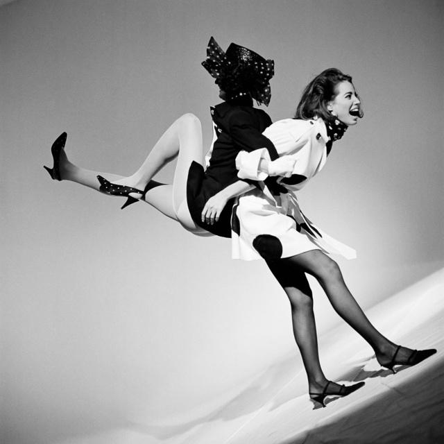 , 'Linda Evangelista and Christy Turlington, Italian Vogue,' 1989, Holden Luntz Gallery