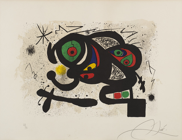 Joan Miró, 'Composizione', Il Ponte