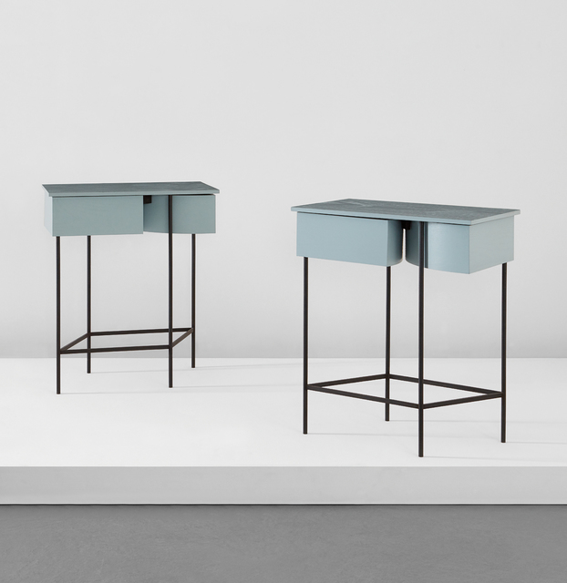 Steven Holl, 'Pair of bedside tables, from Museum Tower, New York', 1986-1987, Phillips