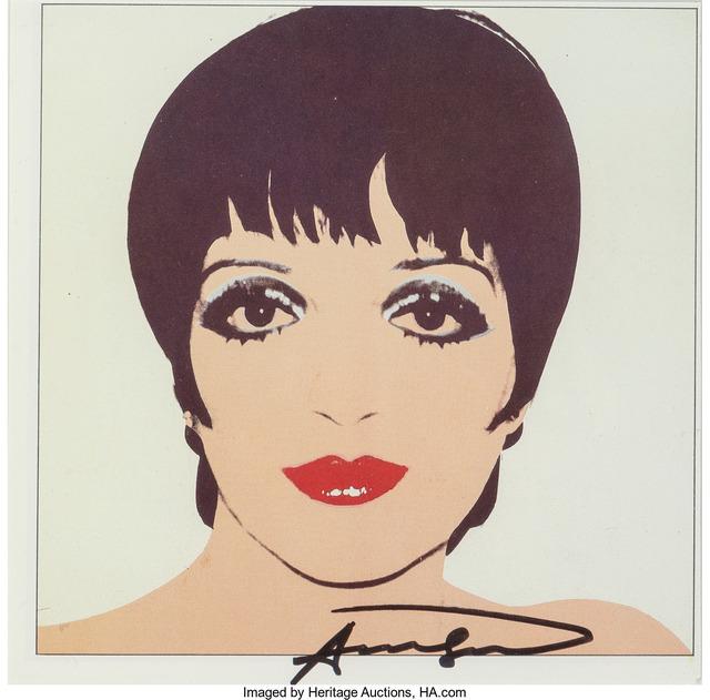 Andy Warhol, 'Liza Minelli', c. 1979, Heritage Auctions