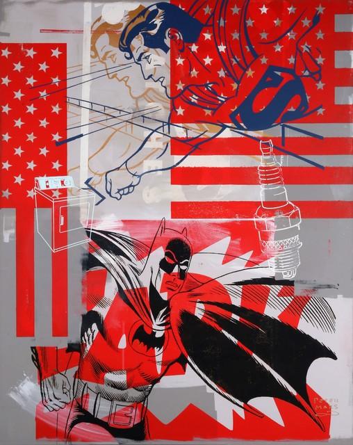 , 'All American Heroes: Superman & Batman,' 2016, Taglialatella Galleries