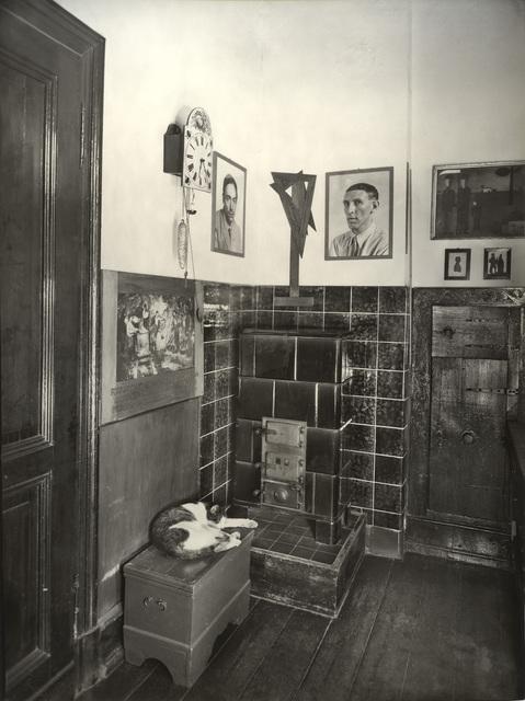 , 'Atelier August Sander #2.7 Arbeitszimmer (Ofenecke),' ca. 1938, Galerie Julian Sander