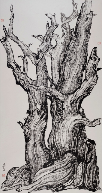 , 'Old Tree 8 深山尋古木 八,' 2014, Rasti Chinese Art