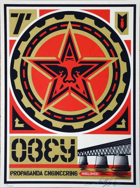 Shepard Fairey, 'Propaganda Engineering', AYNAC Gallery