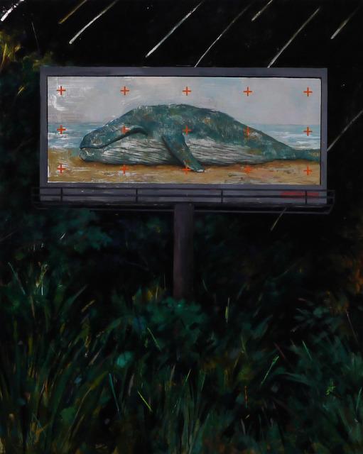 , 'Night Message,' 2016, Powen Gallery