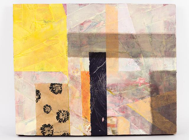 , 'Criss Cross: Yellow, Pink,' 2013, Fountain Street
