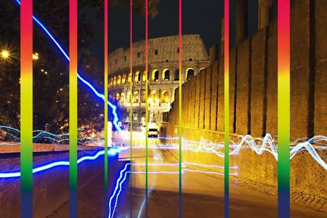 , 'Rainbow on Collosseum Rome,' 2017, Artists Studios