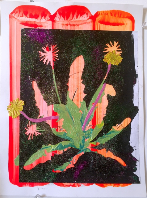 , 'Post mortem vanitas (paardebloem dubbel),' 2018, Galerie Bart