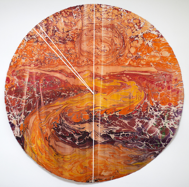 , 'Hydronim #11, Paraguay River (Brazil 50%, Bolivia 2%, Paraguay 37%, Argentina 11%),' 2019, NG Art Gallery