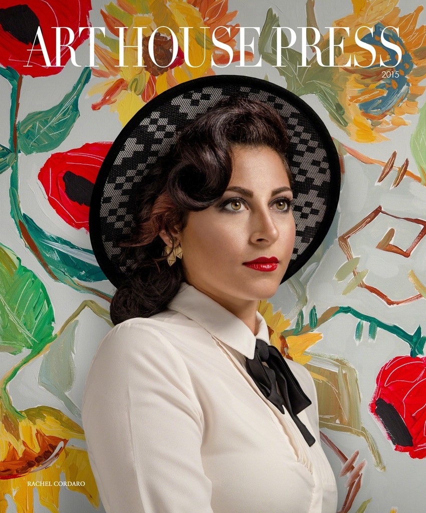 Emerging Artist Rachel Cordaro on the cover of Issue One / Art House Press arts magazine