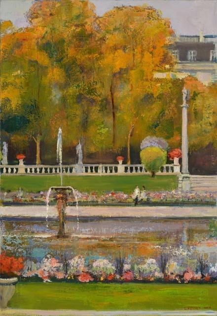 , 'Luxembourg Gardens #1, Diptych,' 2014, Madelyn Jordon Fine Art