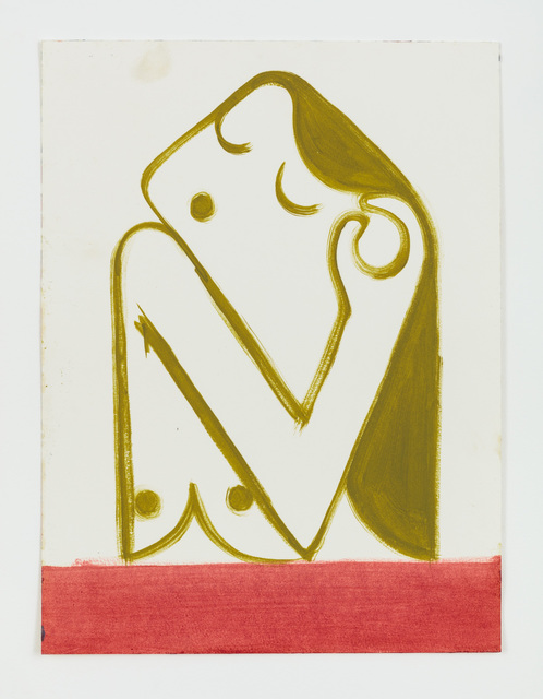 , 'Untitled (Frau befühlt Ohr),' 2014, Rachel Uffner Gallery