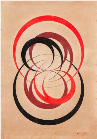 Antônio Maluf, 'Equação dos desenvolvimentos com circulos', 1951, Henrique Faria Fine Art
