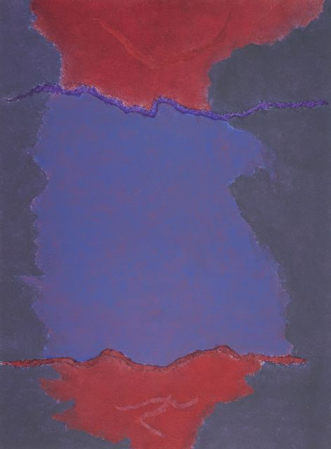, 'Infinity Field, Lefkada Series (Red and Purple),' 1980, Debra Force Fine Art