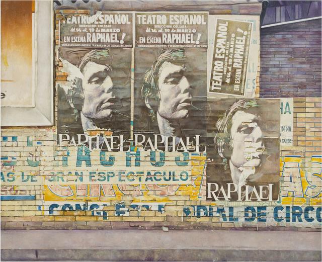Rudolf Häsler, 'Plakatwand', 1977-1978, bromer kunst