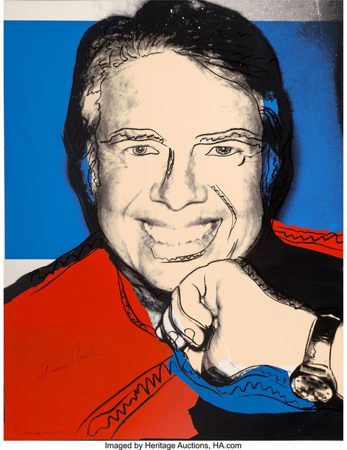 Andy Warhol, 'Jimmy Carter II', 1977, Heritage Auctions