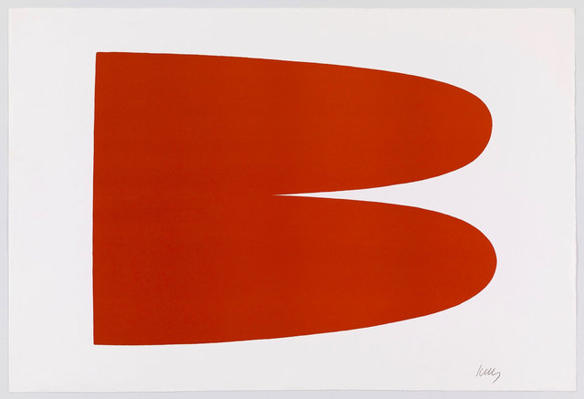 Ellsworth Kelly, 'Red Orange III.3', 1964, Print, Lithograph on Rives paper, Robert Fontaine Gallery
