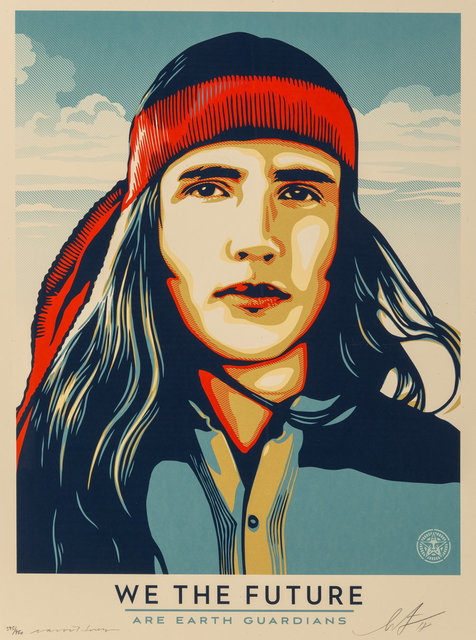 Shepard Fairey, 'Untitled, from We The Future', 2018, Heritage Auctions