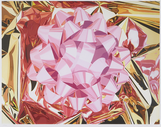 Jeff Koons, 'Pink Bow, from the Celebration Series,' 2013, Phillips: Evening and Day Editions (October 2016)