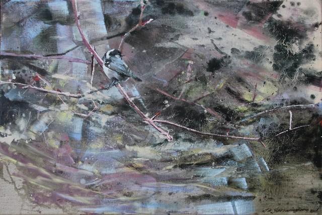 , 'Coal Tit,' 2018, Sarah Wiseman Gallery