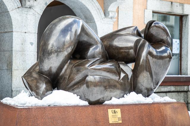 Dominique Polles, 'Immanente', 2002, Sculpture, Bronze, Galerie de Souzy