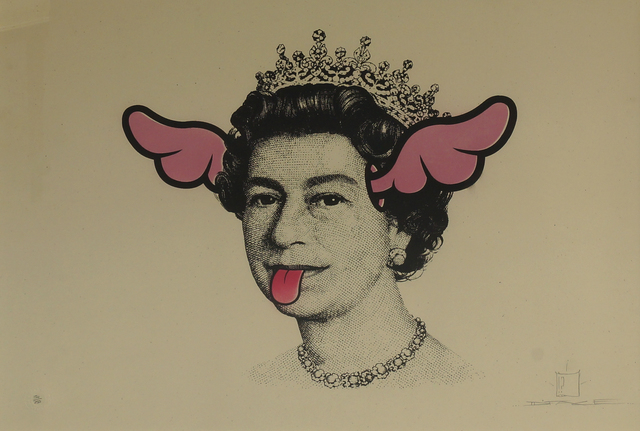 D*Face, 'Dog save the Queen', 2006, Roseberys