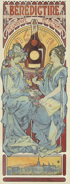 Alphonse Mucha, 'Bénédictine', 1898, Rennert's Gallery