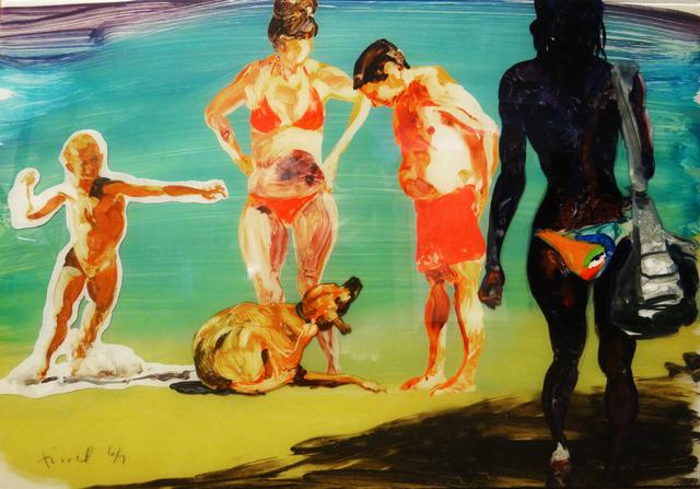 , 'On the Beach – 4,' 2016, Hexton Gallery