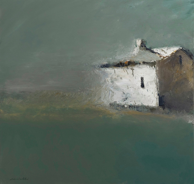 Victor Mirabelli, 'Nestled in Turquoise', Argazzi Art