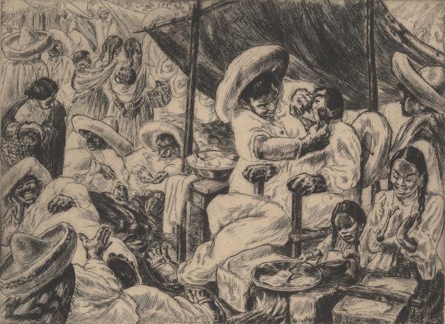 Irwin Hoffman, 'Mexican Barber Shop', 1936, Stone + Press Gallery