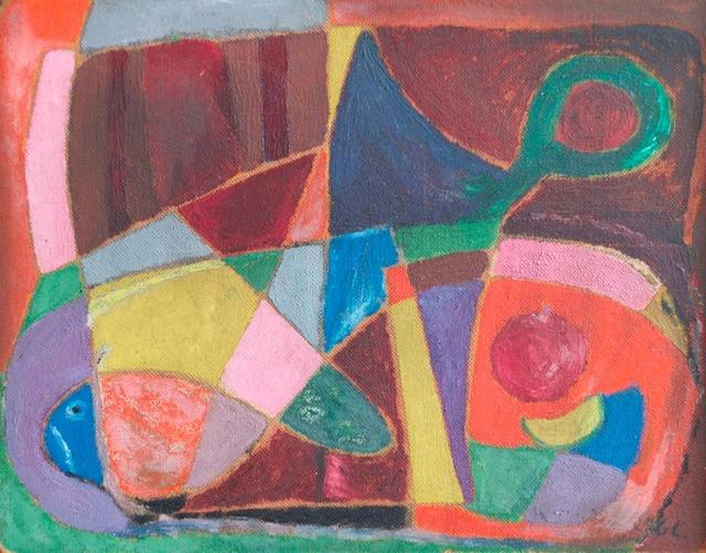 , 'Abstracto Peces,' No date / Sin fecha, Andrés Siegel / Arte