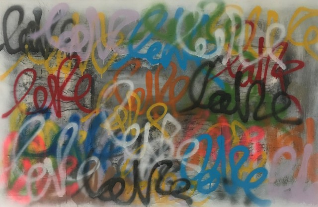 , 'Love # One,' 2018, THE WHITE ROOM GALLERY