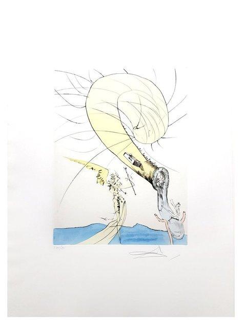 "Salvador Dalí, 'Original Etching ""Snail Head"" by Salvador Dalí', 1974, Galerie Philia"