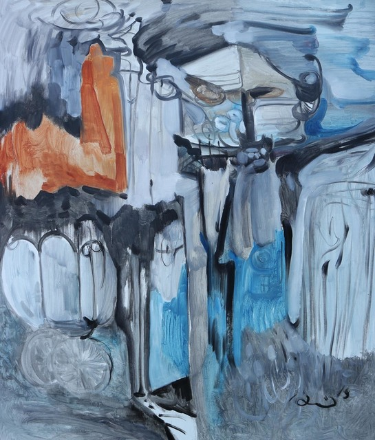 , 'Search,' 2018, Blue Hill Fine Arts