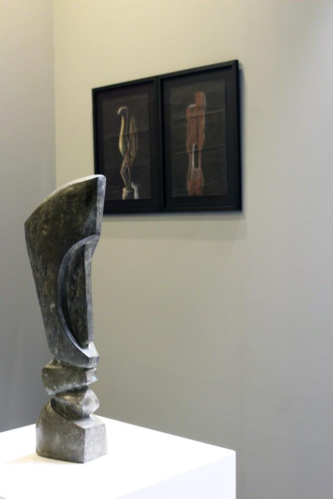 Installation shot:  Ben Osawe Art Dubai Modern 2017