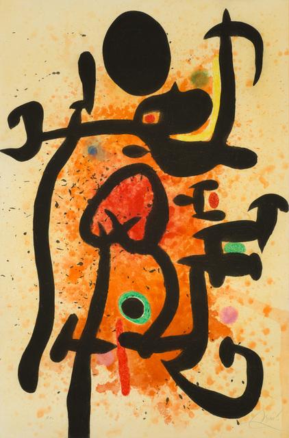Joan Miró, 'The Flame Thrower', 1974, Christopher-Clark Fine Art
