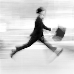 Man in a Hurry