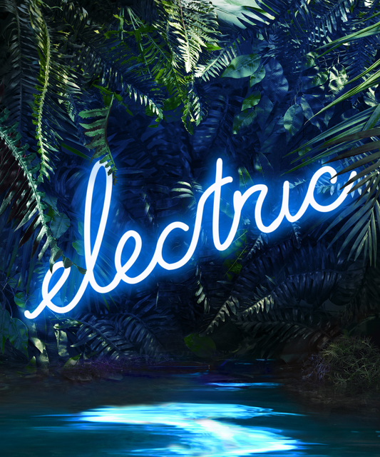 , 'Disco in the Jungle: Electric Blue,' , ArtStar