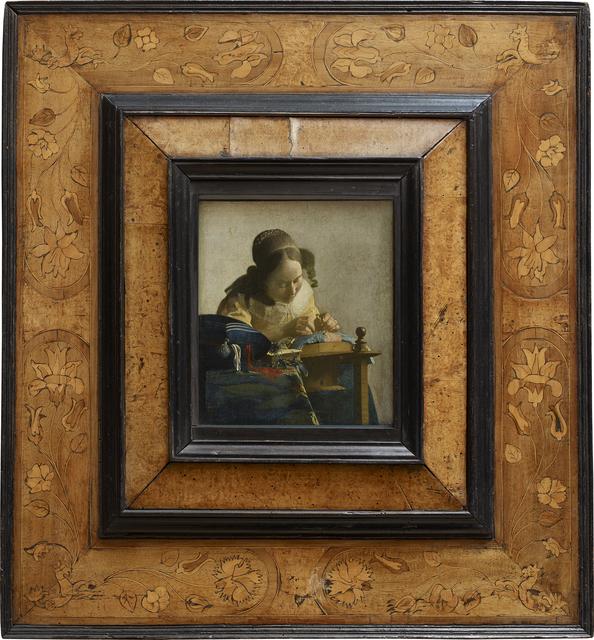 Johannes Vermeer, 'Le Dentellière (The Lacemaker)', 1669/1670, Musée du Louvre
