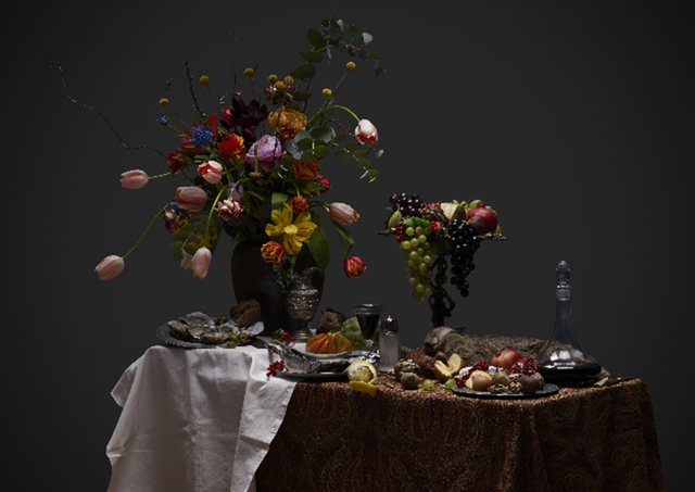 , 'Dutch Kitchen Still Life with Flowers,' 2013, Cynthia Corbett Gallery