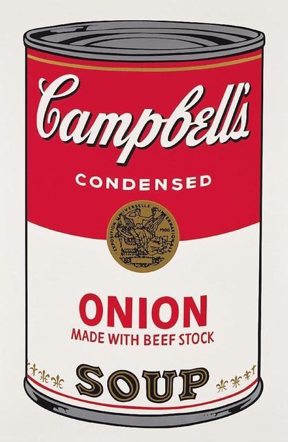 Andy Warhol, 'Campbells Soup Onion II.47', 1968, OSME Fine Art