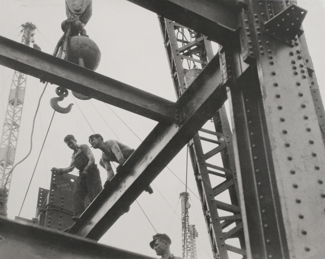 , 'The Steel Workers are Always on Top,' ca. 1930, Bruce Silverstein Gallery