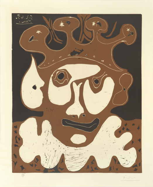 , 'Tête de Bouffon - Carneval. Head of the Jester - Carnival.,' 1965, William Weston Gallery Ltd.