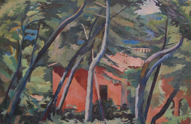, 'House in the woods III,' ca. 1969, Robert Eagle Fine Art