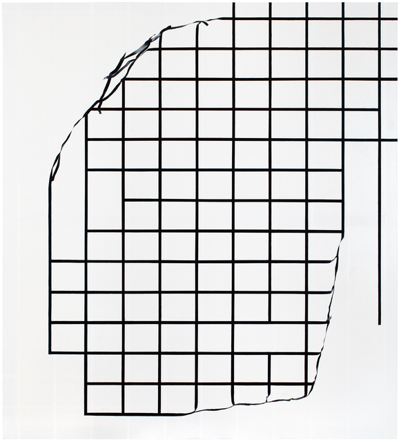 , 'Grid on Canvas,' 2016, Galerie Anhava