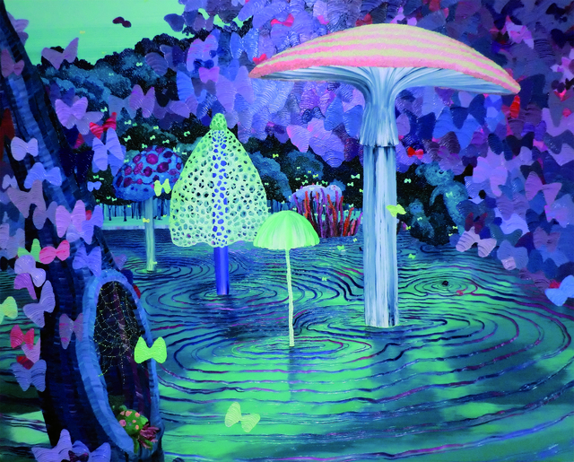 , 'Moonlight Swamp,' 2012, Mizuma Art Gallery